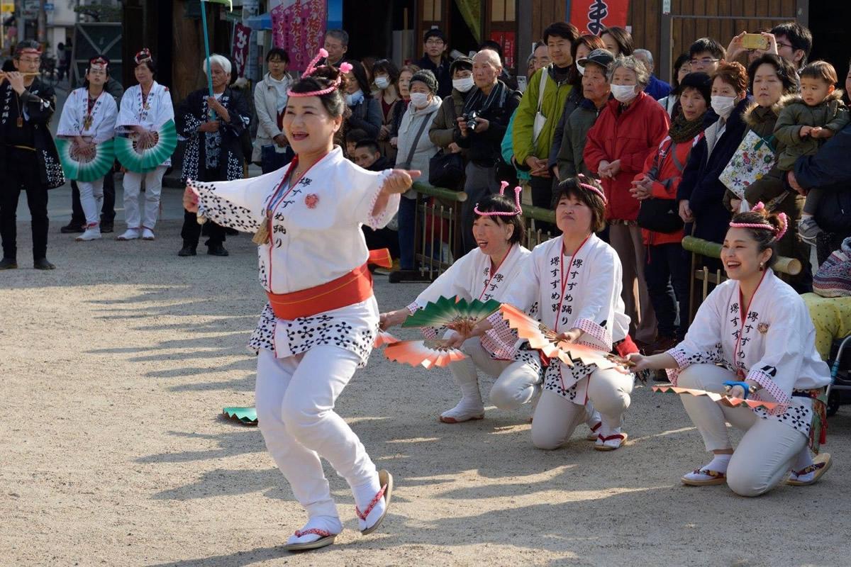 2018年 大阪・天満宮での奉納演舞4