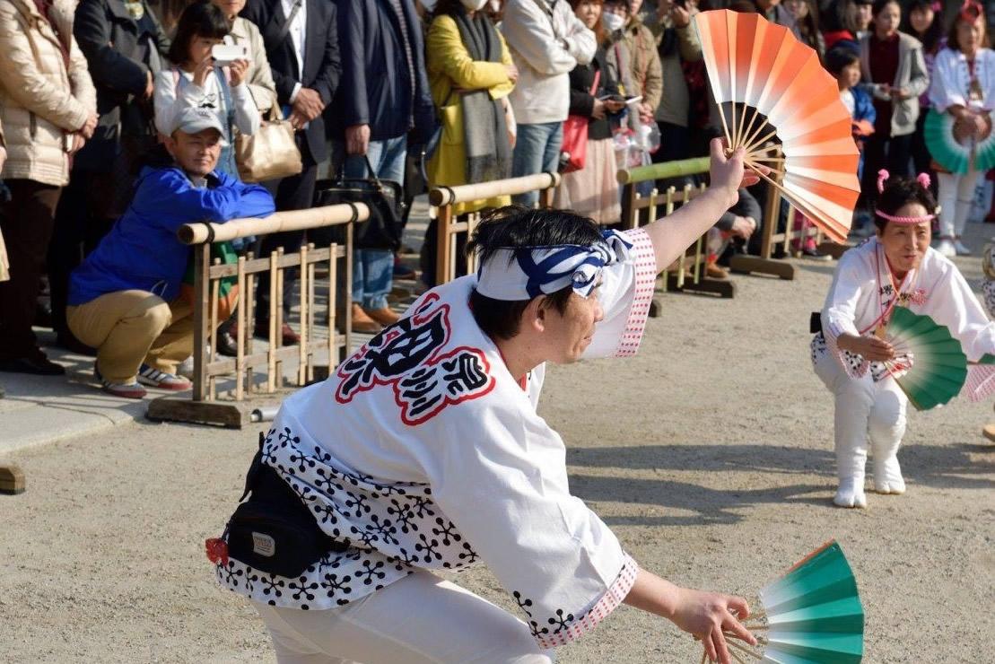 2018年 大阪・天満宮での奉納演舞5