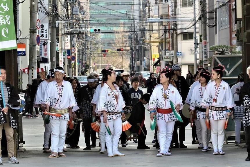 2018年 大阪・天満宮での奉納演舞7