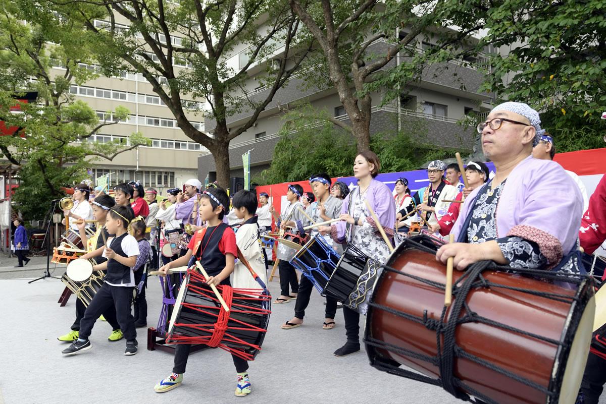 堺祭り2019 開口神社 夢ステージ13