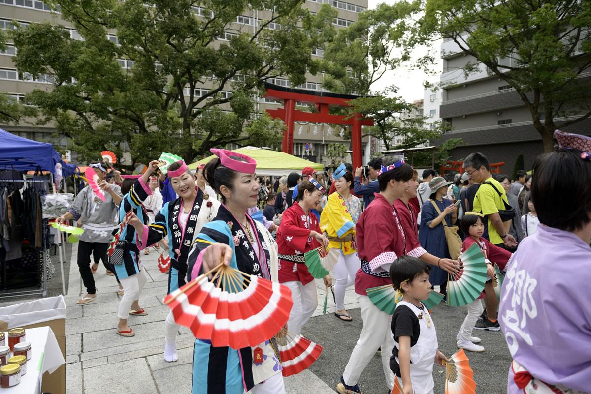 堺祭り2019 開口神社 夢ステージ14