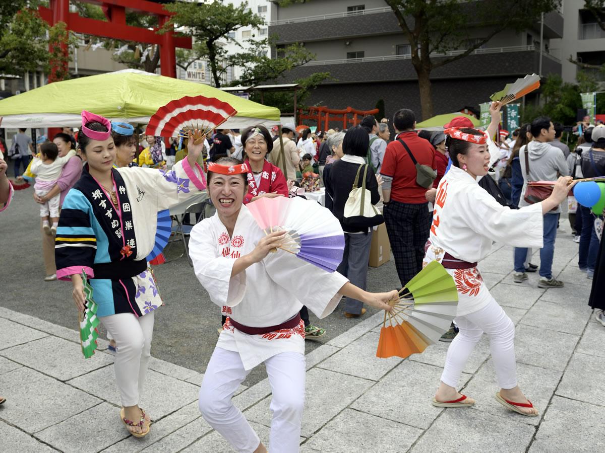 堺祭り2019 開口神社 夢ステージ16