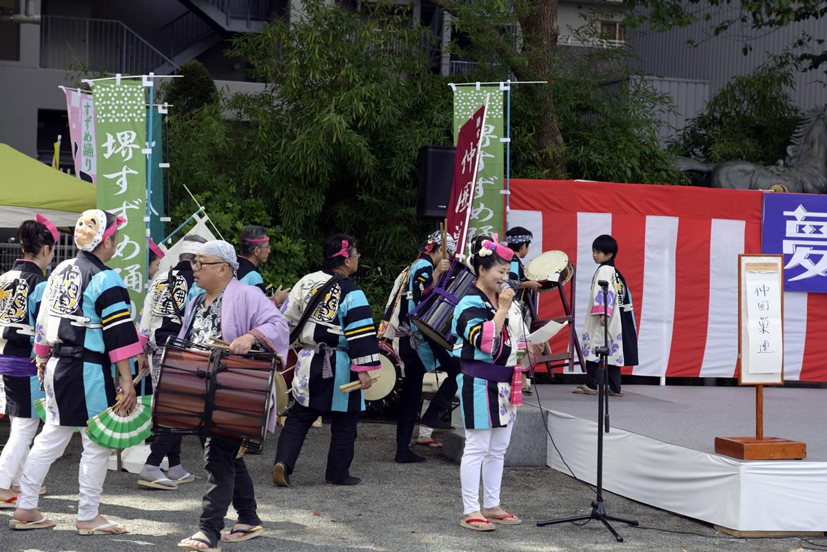 堺祭り2019 開口神社 夢ステージ2