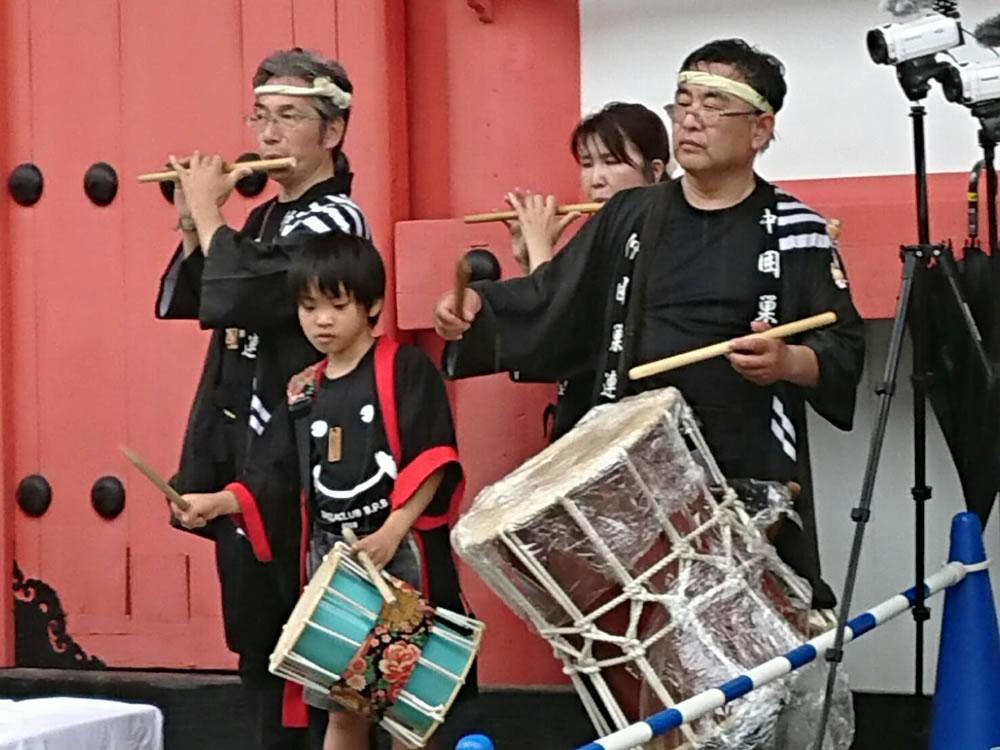 2019年 愛染祭りにて演舞3