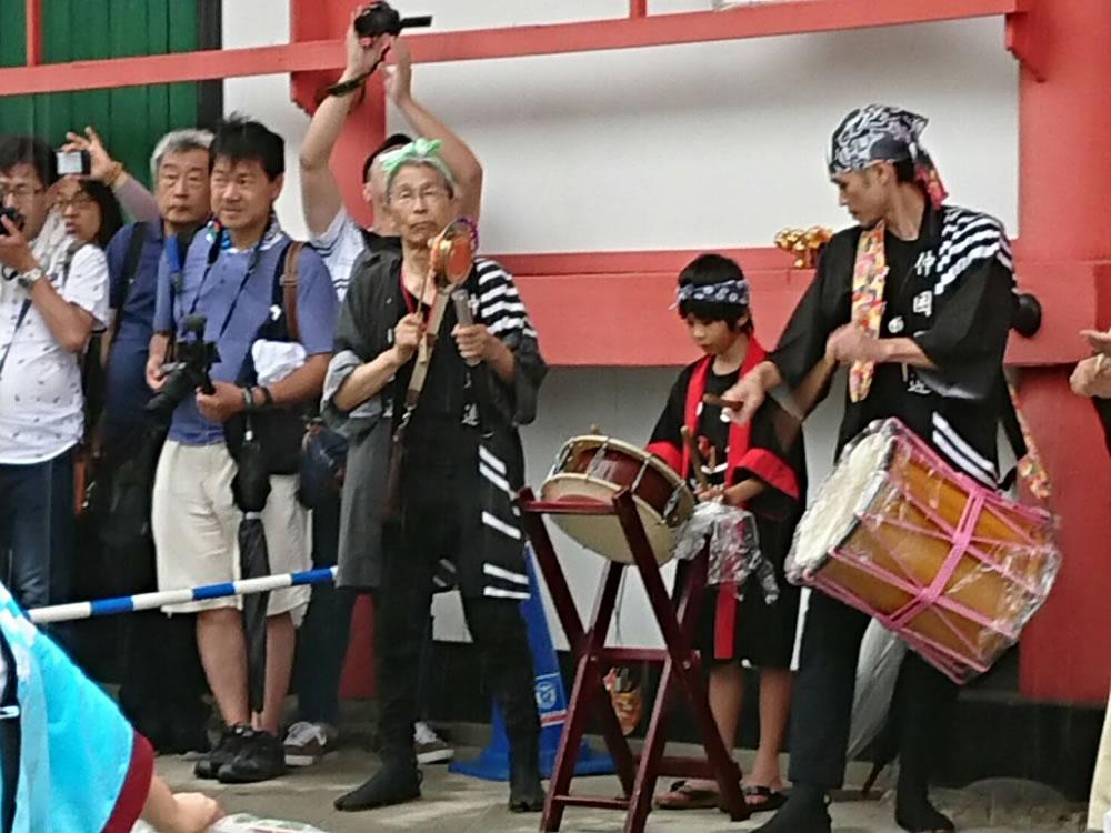 2019年 愛染祭りにて演舞4