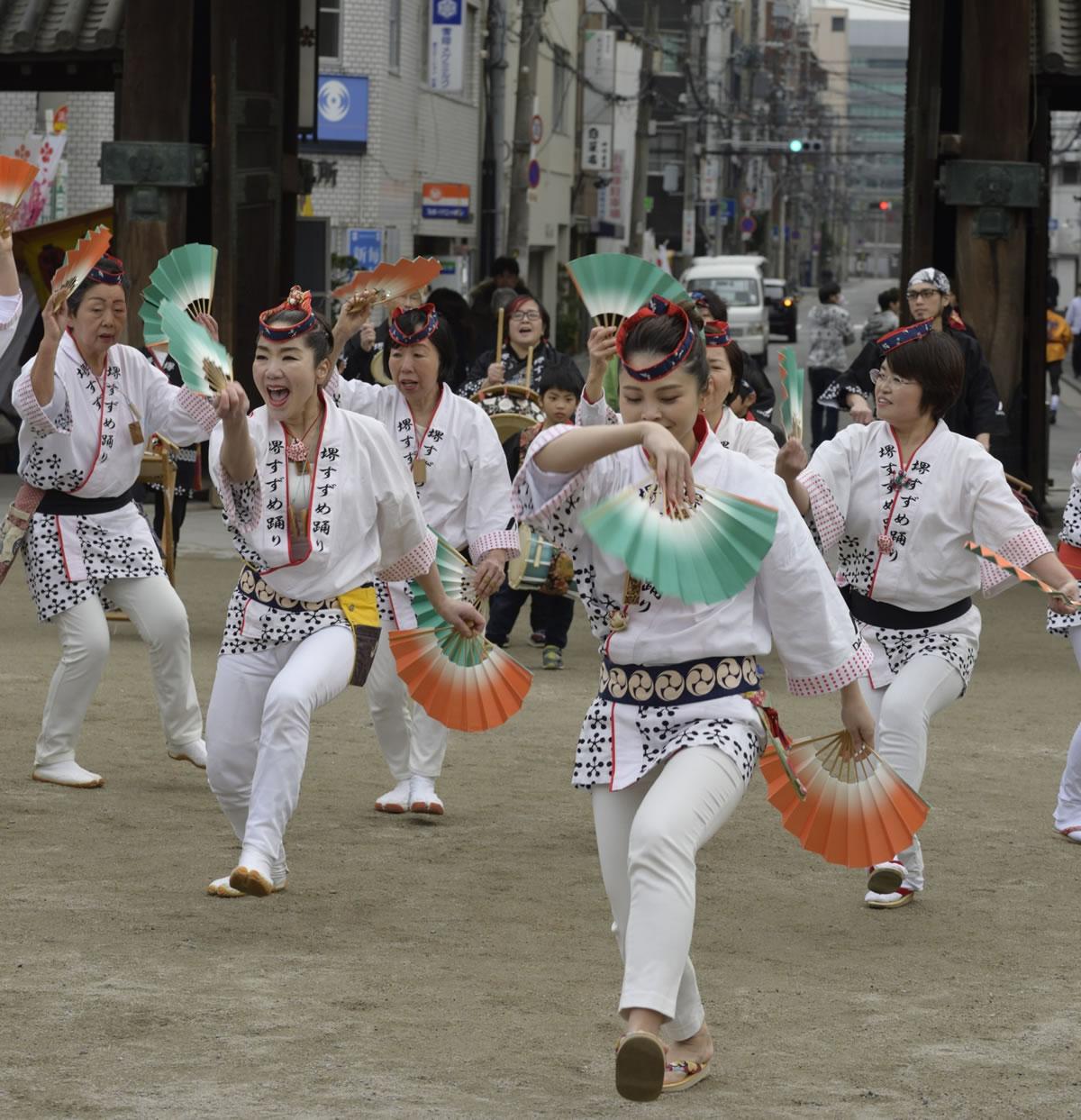 2019大阪天満宮・奉納すずめ踊り7
