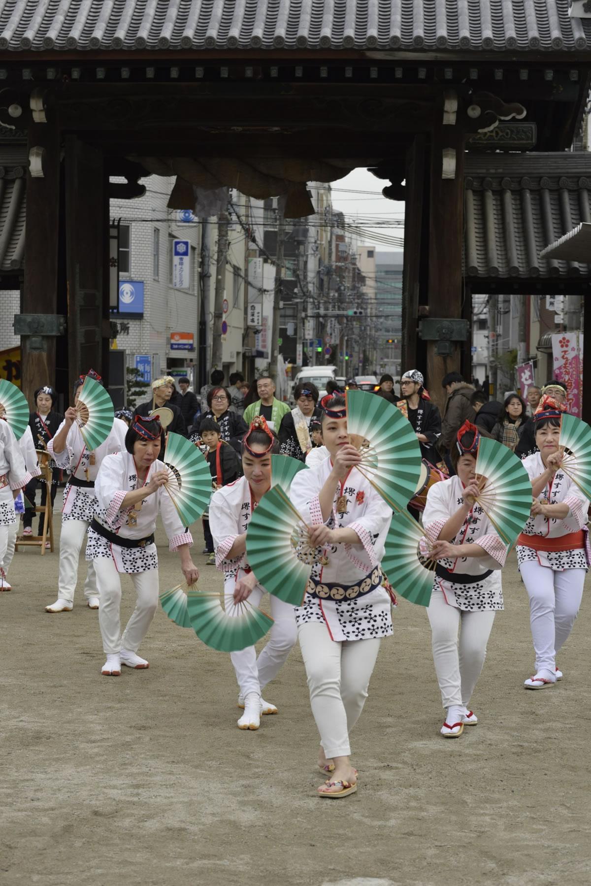 2019大阪天満宮・奉納すずめ踊り3