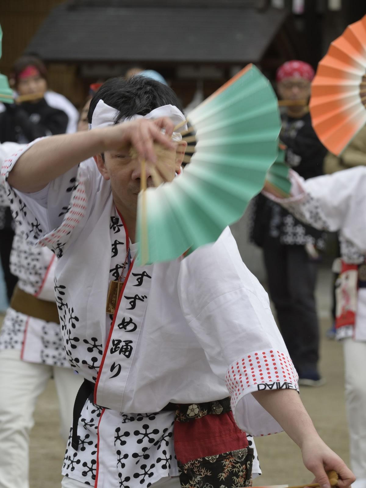 2019大阪天満宮・奉納すずめ踊り6