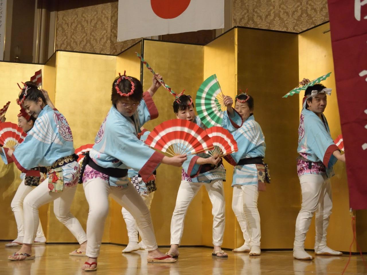 堺フェニックスライオンズクラブ結成20周年記念祝宴 すずめ踊り7