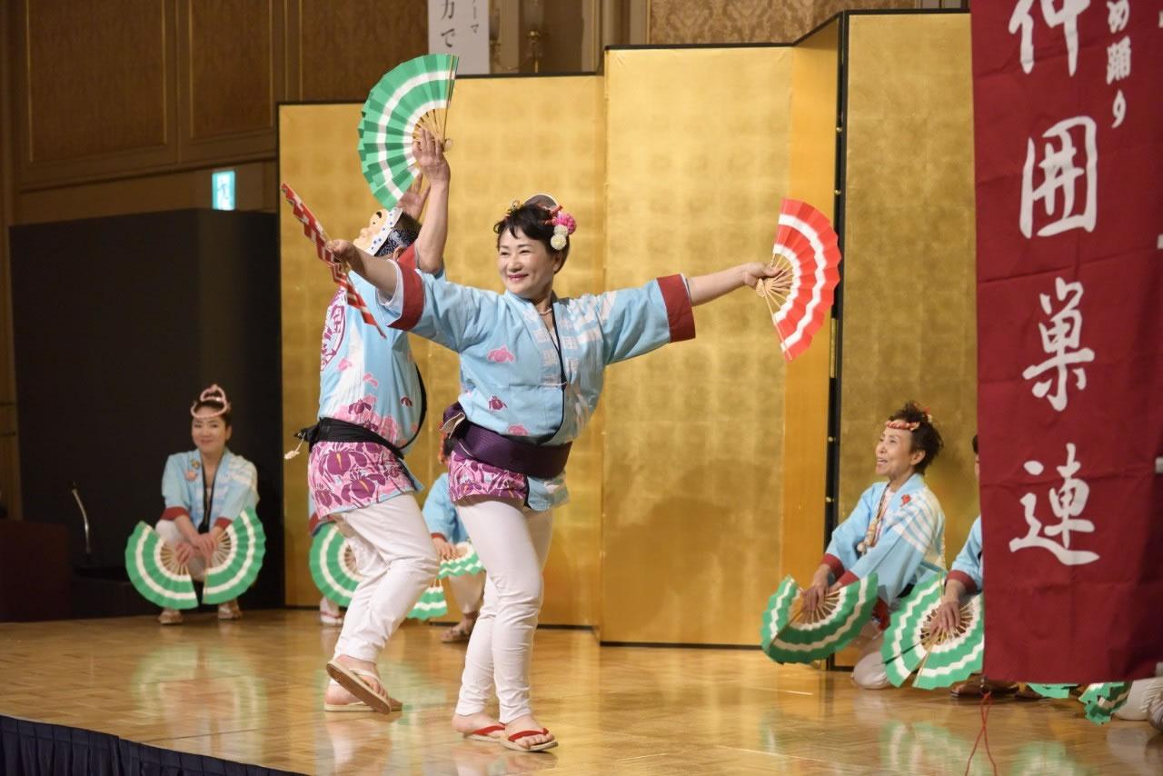 堺フェニックスライオンズクラブ結成20周年記念祝宴 すずめ踊り8