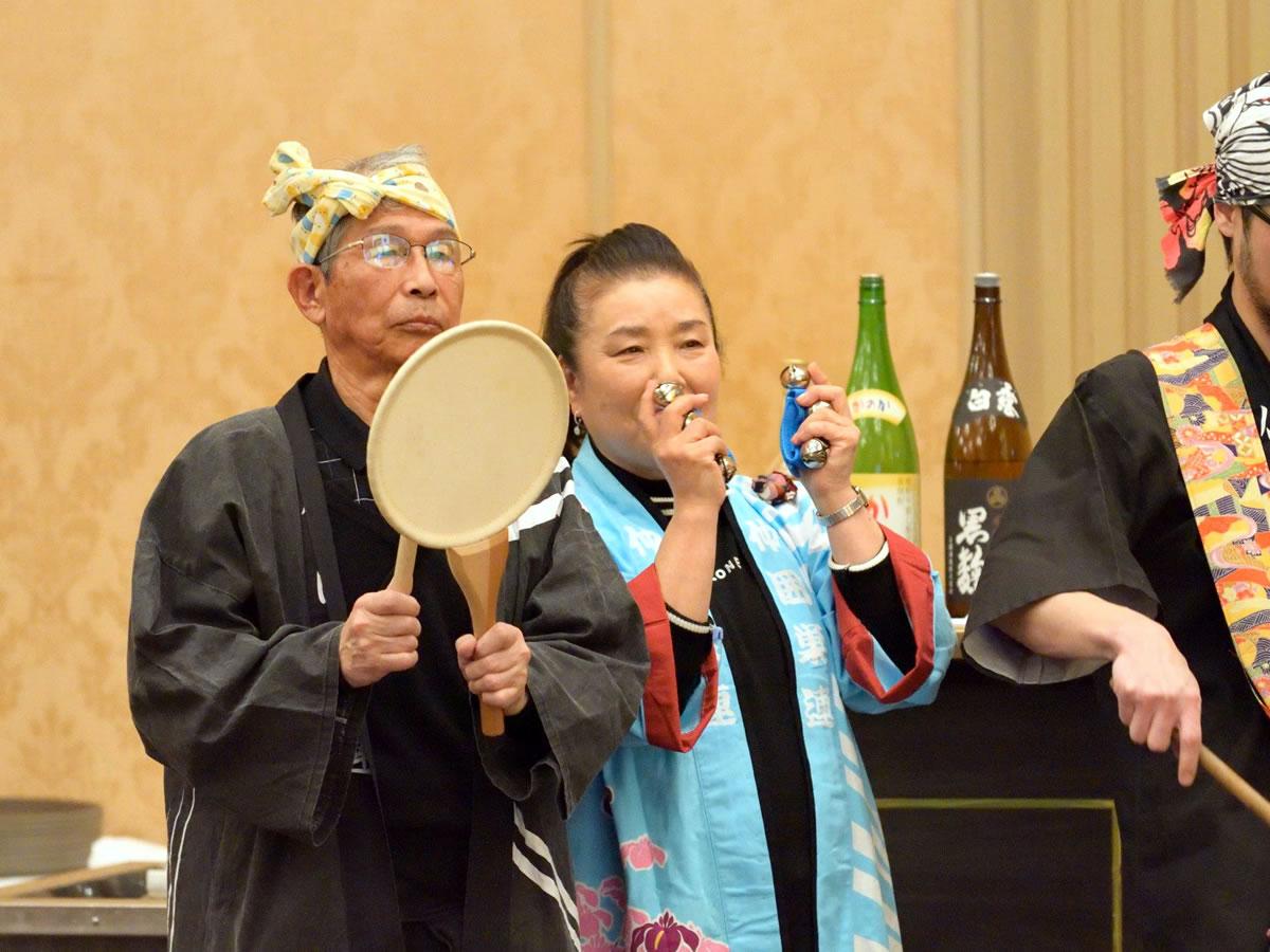 堺フェニックスライオンズクラブ結成20周年記念祝宴 すずめ踊り9