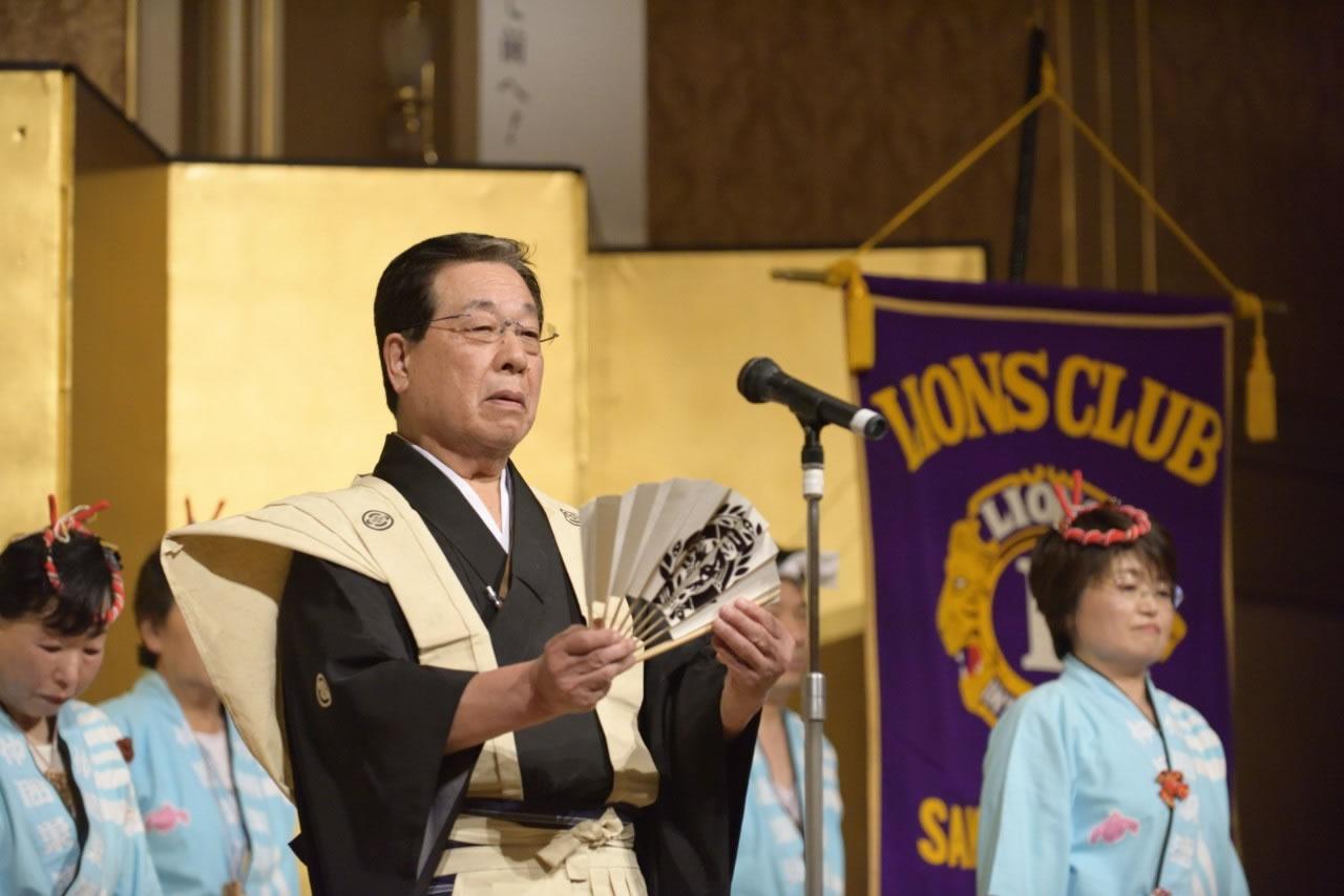 堺フェニックスライオンズクラブ結成20周年記念祝宴 すずめ踊り口上