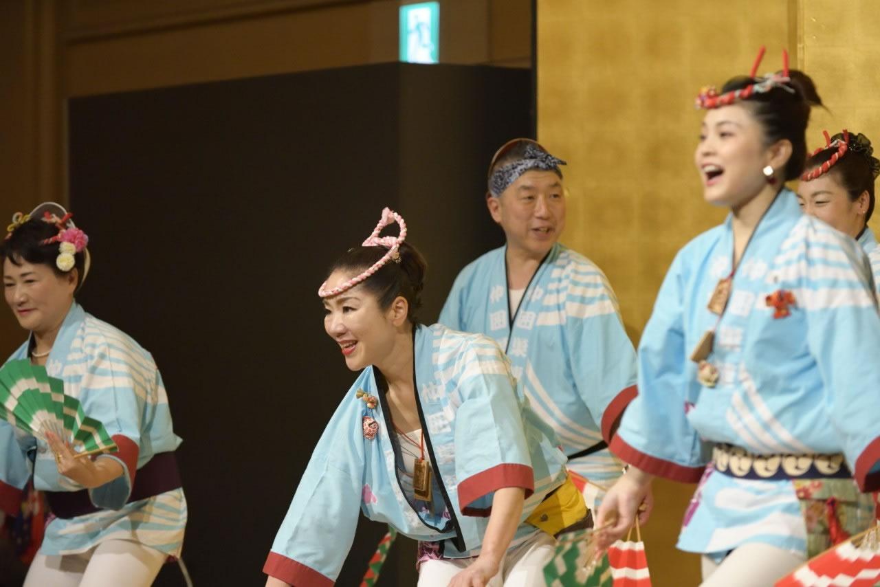 堺フェニックスライオンズクラブ結成20周年記念祝宴 すずめ踊り5
