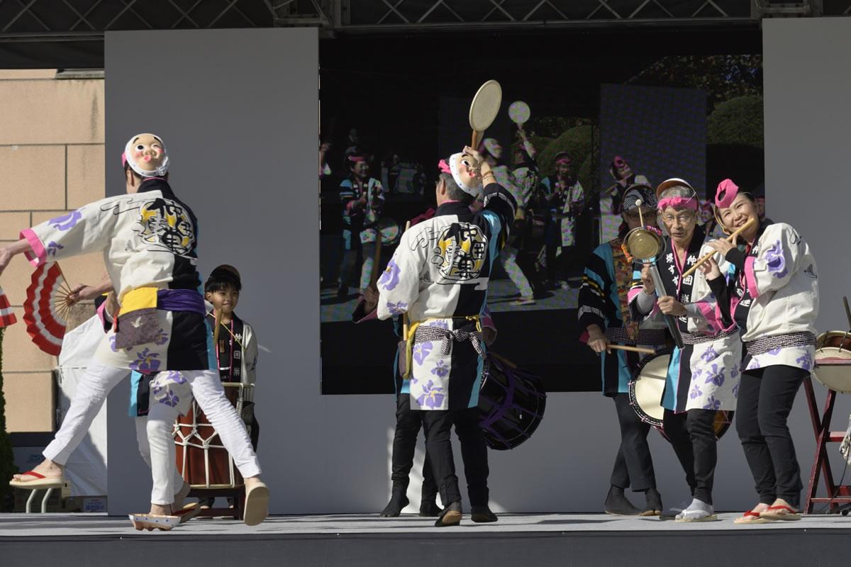 OSEAL2019 ハノーバー庭園にてすずめ踊り演舞12