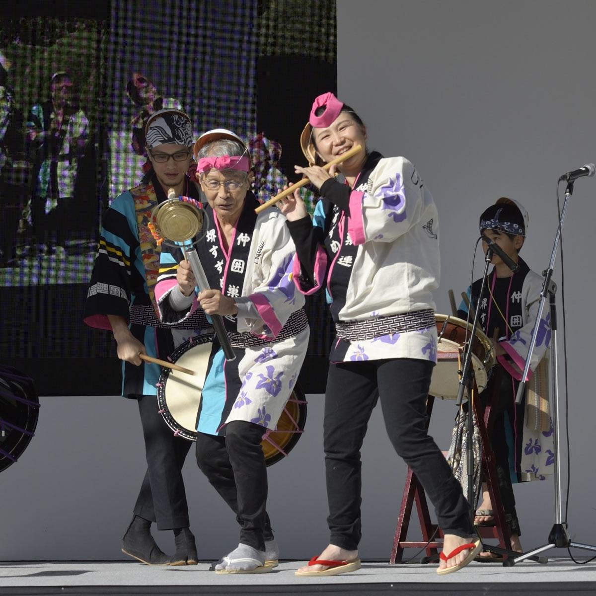 OSEAL2019 ハノーバー庭園にてすずめ踊り演舞13