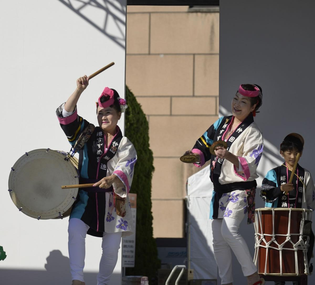 OSEAL2019 ハノーバー庭園にてすずめ踊り演舞14