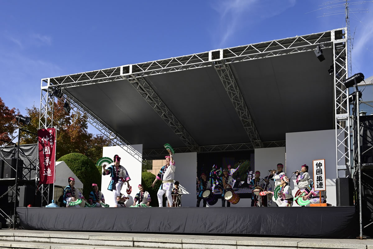 OSEAL2019 ハノーバー庭園にてすずめ踊り演舞17
