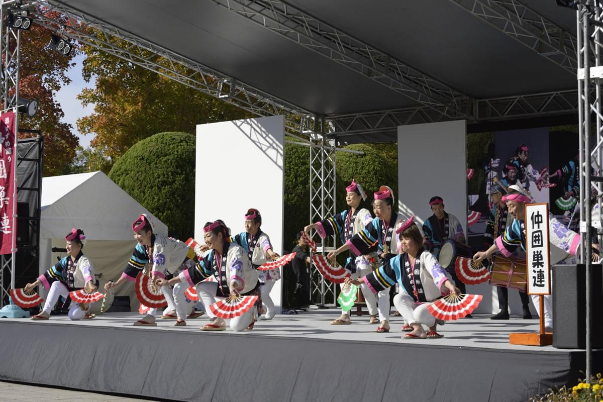 OSEAL2019 ハノーバー庭園にてすずめ踊り演舞19