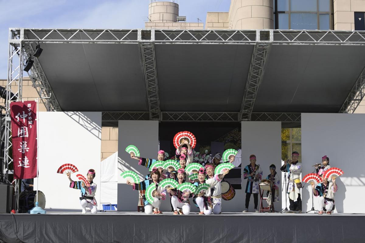 OSEAL2019 ハノーバー庭園にてすずめ踊り演舞21