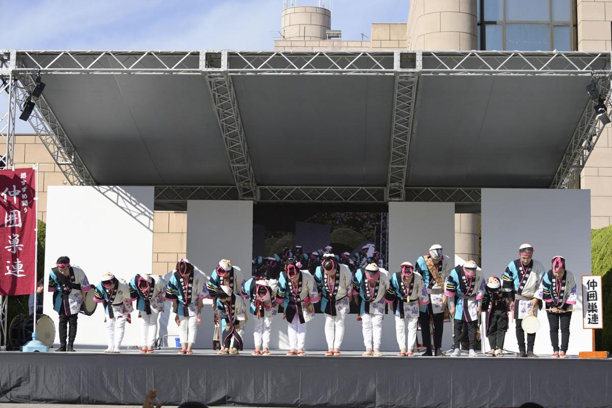 OSEAL2019 ハノーバー庭園にてすずめ踊り演舞22