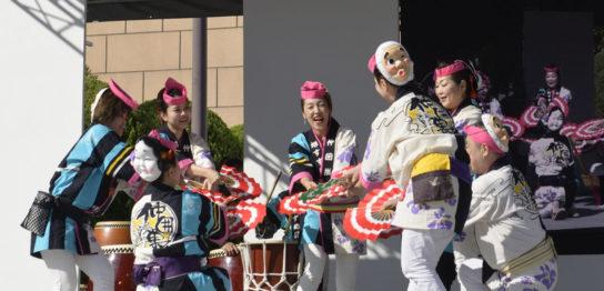 OSEAL2019 ハノーバー庭園にてすずめ踊り演舞23