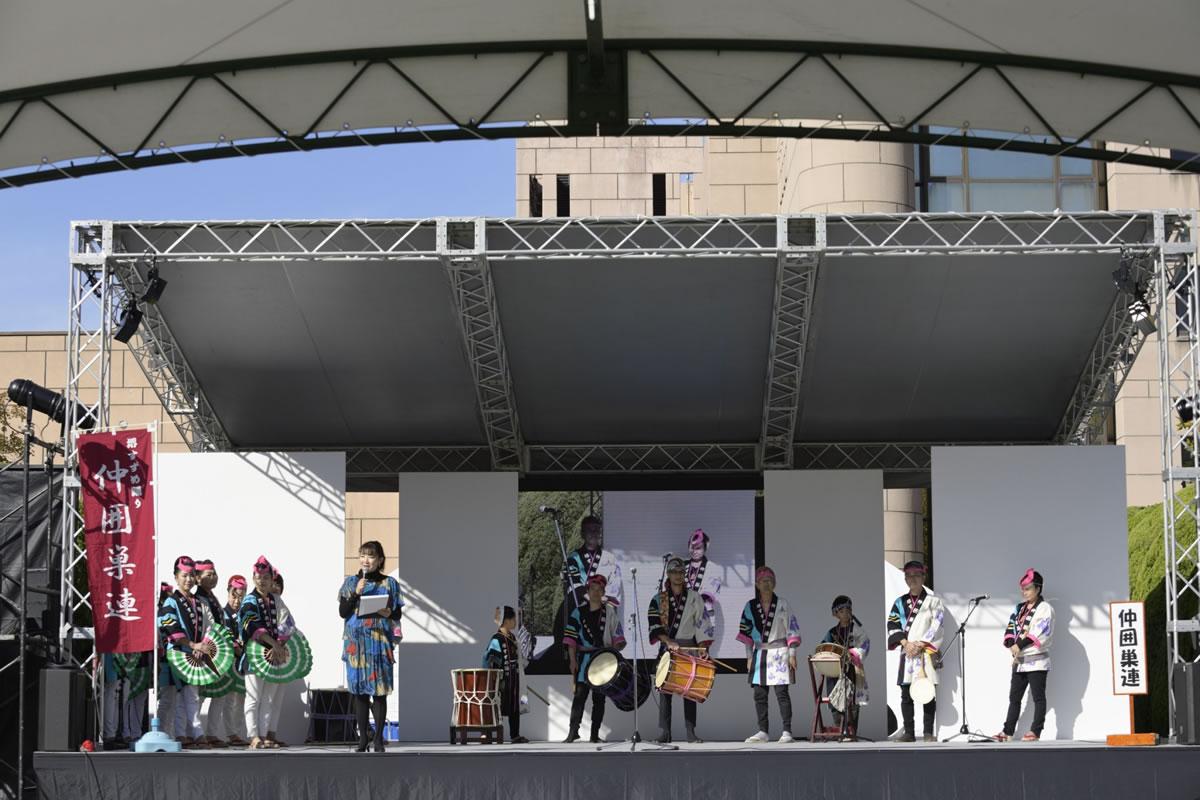 OSEAL2019 ハノーバー庭園にてすずめ踊り演舞6