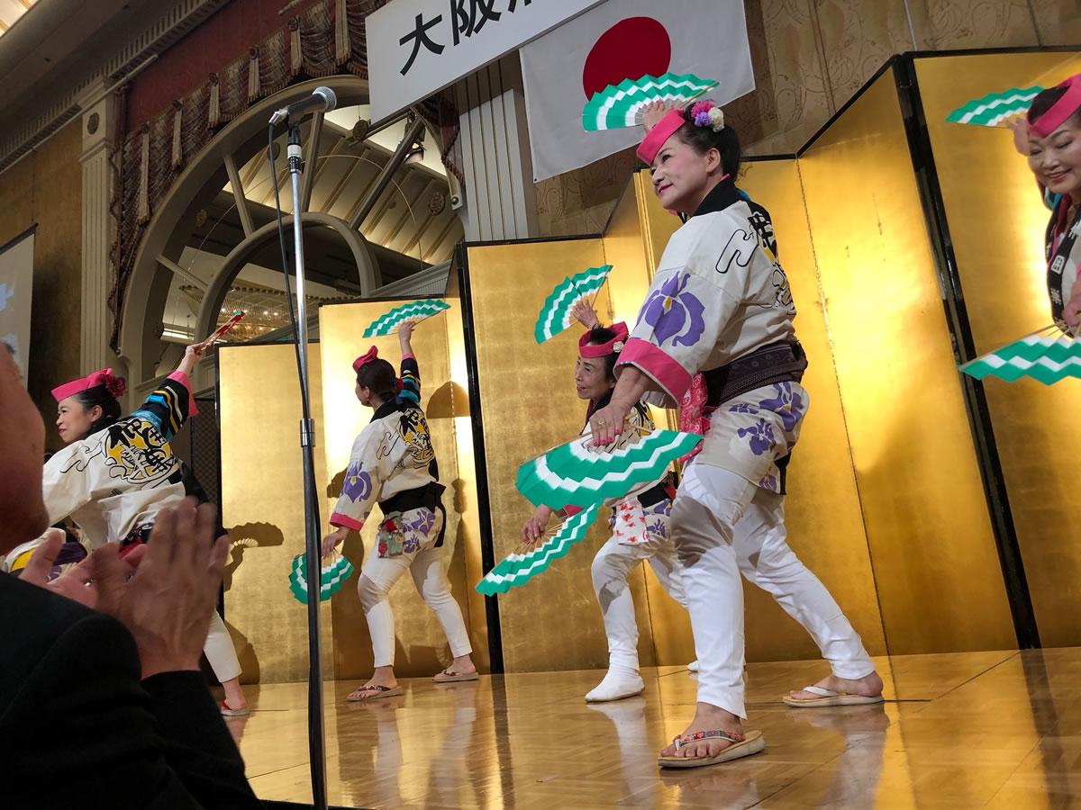 倫理法人会新春互礼会にてすずめ踊り5