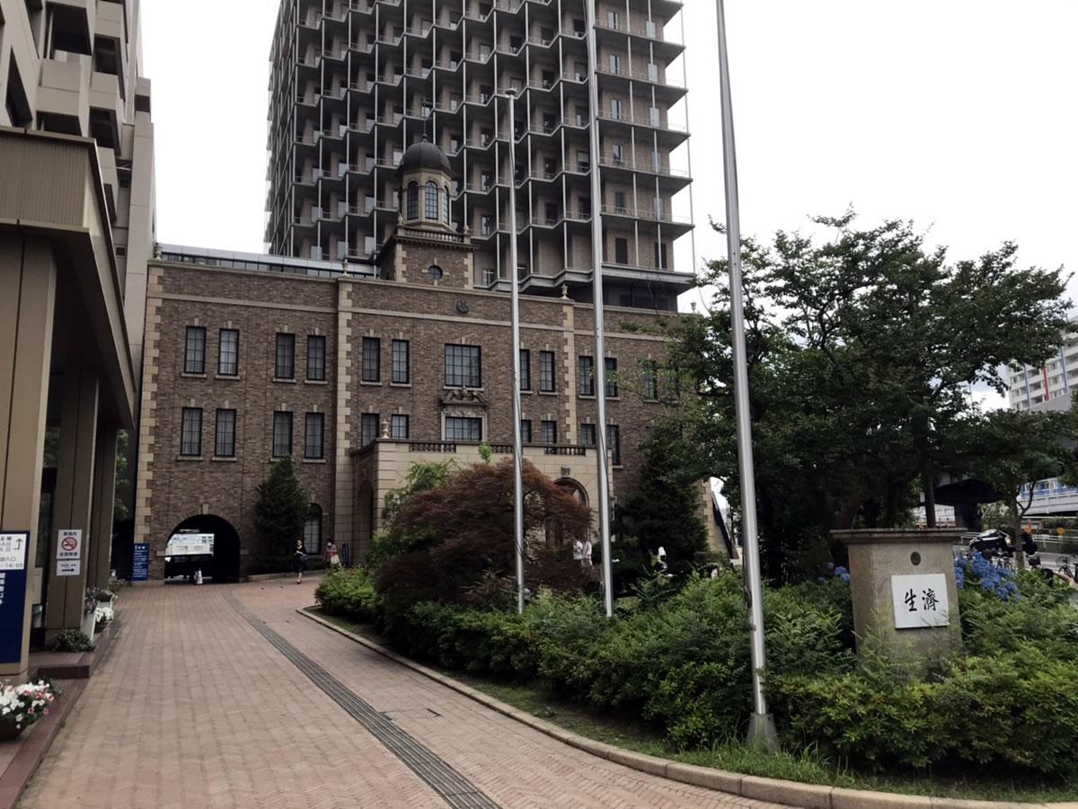 済生会・中津病院にてすずめ踊り演舞5