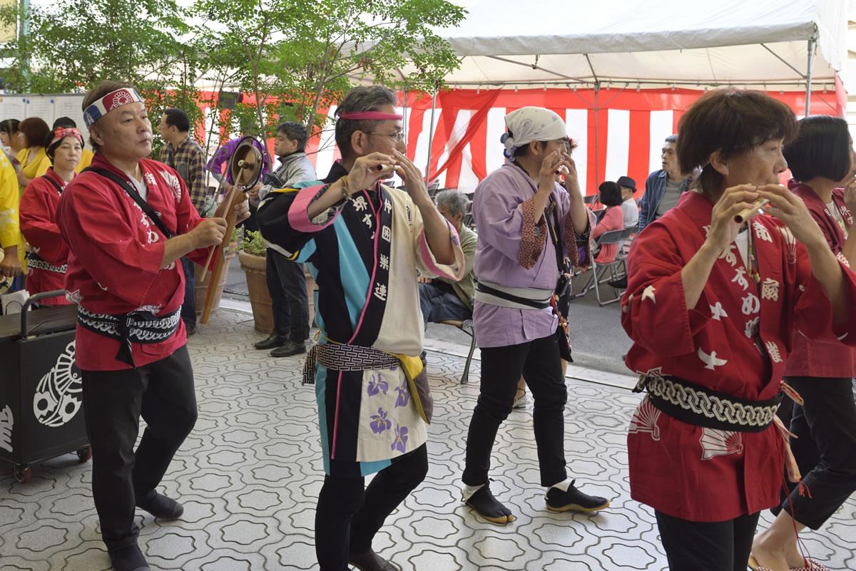 堺祭り2019 山之口商店街 流し踊り1