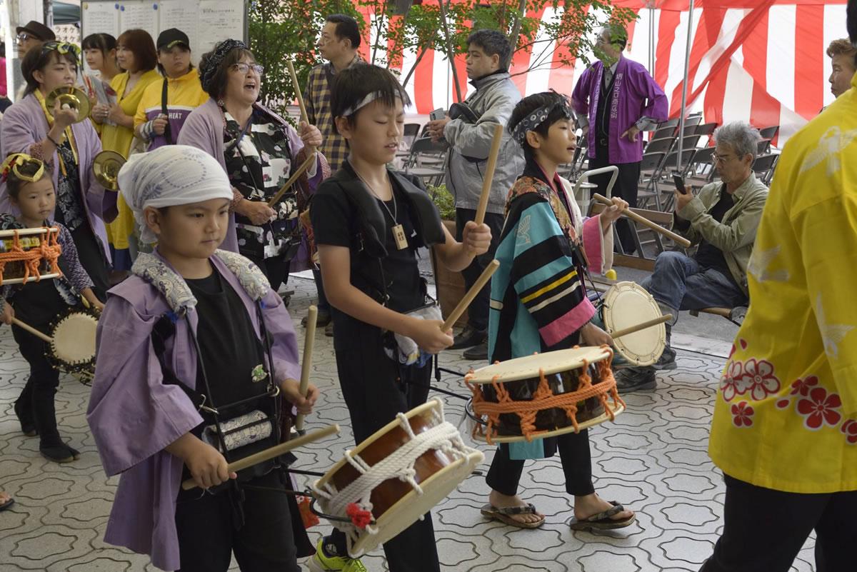 堺祭り2019 山之口商店街 流し踊り2
