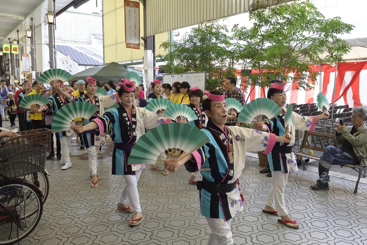 堺祭り2019 山之口商店街 流し踊り6