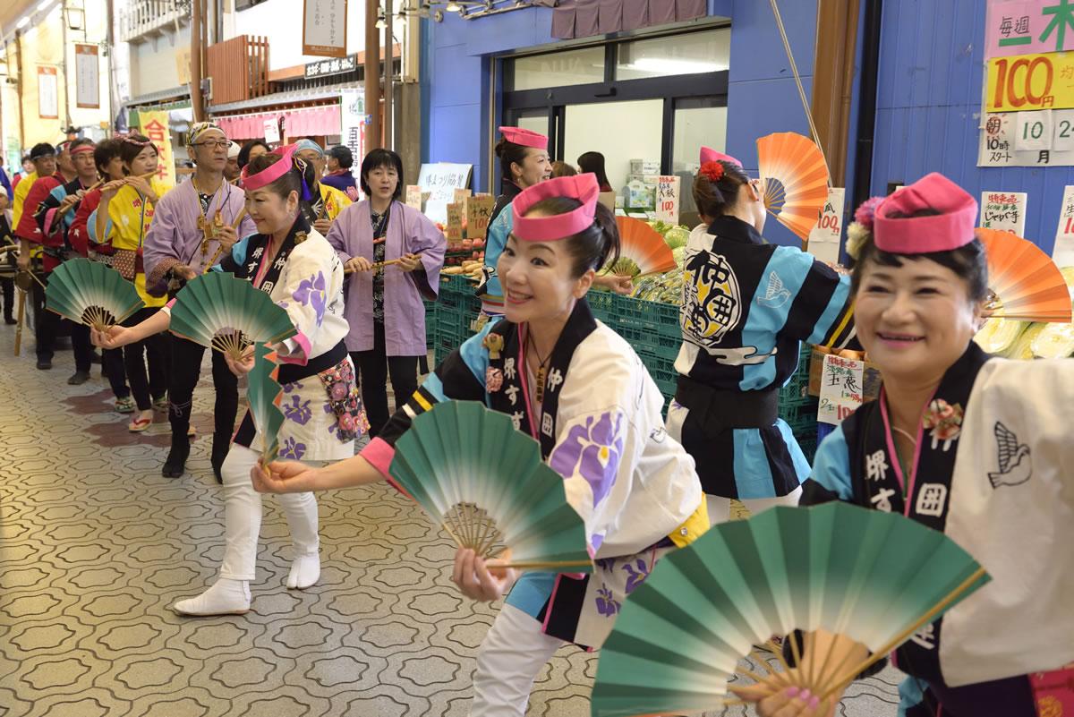 堺祭り2019 山之口商店街 流し踊り7