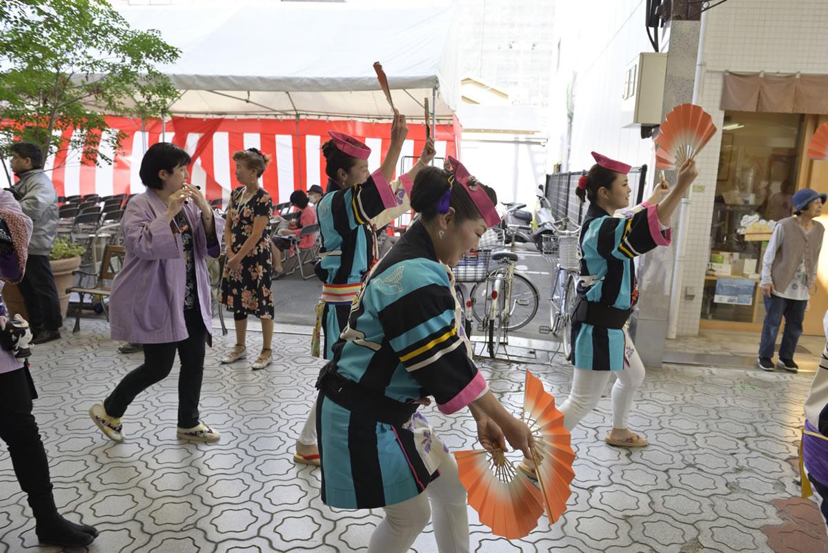 堺祭り2019 山之口商店街 流し踊り8