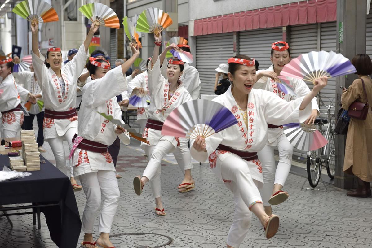 堺祭り2019 山之口商店街 流し踊り9